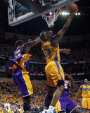 Los Angeles Lakers v New Orleans Hornets - Game Three, New Orleans, LA - APRIL 22: Carl Landry and  Photo by Layne Murdoch