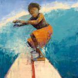 Surfer Kunstdrucke von Rebecca Kinkead