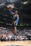 Orlando Magic v Atlanta Hawks - Game Six, Atlanta, GA - APRIL 28: Dwight Howard Photographic Print by Scott Cunningham