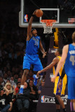 Dallas Mavericks v Los Angeles Lakers - Game Two, Los Angeles, CA - MAY 4: Brendan Haywood Photographic Print by Noah Graham