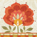 Ikat Bloom I Prints by Sue Schlabach