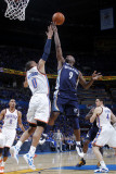 Memphis Grizzlies v Oklahoma City Thunder - Game Two, Oklahoma City, OK - MAY 3: Tony Allen and Rus Photographic Print by Layne Murdoch