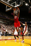 Philadelphia 76ers v Miami Heat - Game Five,  MIAMI - APRIL 27: Elton Brand Photographic Print by Issac Baldizon
