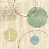 Circle of Words - Faith Print by Veronique Charron