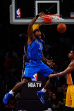 Dallas Mavericks v Los Angeles Lakers - Game Two, Los Angeles, CA - MAY 04: Brendan Haywood Photographic Print by Kevork Djansezian