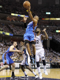 Oklahoma City Thunder v Memphis Grizzlies - Game Four, Memphis, TN - MAY 09: Russell Westbrook Photographic Print by Andy Lyons