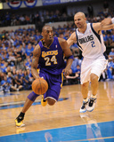 Los Angeles Lakers v Dallas Mavericks - Game Four, Dallas, TX - MAY 8: Kobe Bryant and Jason Kidd Photo by Noah Graham