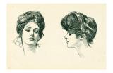 Gibson Girls Portraits 1902 Prints