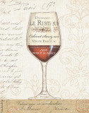 Wine by the Glass I Poster by Daphne Brissonnet