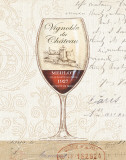 Wine by the Glass II Prints by Daphne Brissonnet