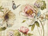 Marche de Fleur IV Print by Lisa Audit