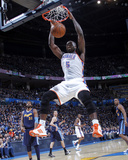 Denver Nuggets v Oklahoma City Thunder - Game Five, Oklahoma City, OK - APRIL 27: Kendrick Perkins Photo by Layne Murdoch