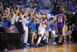 Los Angeles Lakers v Dallas Mavericks - Game Four, Dallas, TX - MAY 8: Jason Terry Photographic Print by Noah Graham