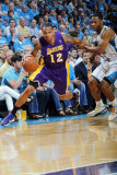 Los Angeles Lakers v New Orleans Hornets - Game Six, New Orleans, LA - APRIL 28: Shannon Brown and  Photographic Print by Layne Murdoch