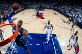 Orlando Magic v Atlanta Hawks - Game Six, Atlanta, GA - APRIL 28: Dwight Howard Photographic Print by Kevin Cox