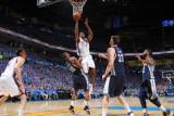 Memphis Grizzlies v Oklahoma City Thunder - Game Two, Oklahoma City, OK - MAY 3: Serge Ibaka, Darre Photographic Print by Joe Murphy
