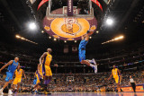 Dallas Mavericks v Los Angeles Lakers - Game Two, Los Angeles, CA - MAY 4: Tyson Chandler Photographic Print by Andrew Bernstein