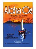 Aloha Oe (Farewell To Thee) Poster