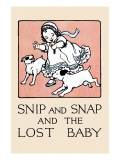 Snip And Snap And the Lost Baby Prints by Julia Dyar Hardy