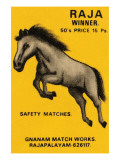 Raja Winner Safety Matches Posters