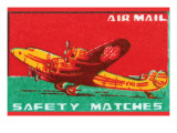 Air Mail Safety Matches Prints