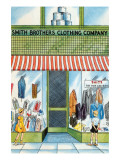 Smith Brothers Clothing Company Prints by Julia Letheld Hahn