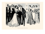 The Race Is Not Always To the Beautiful Prints by Charles Dana Gibson
