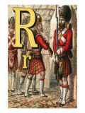 R For the Regiment Guarding the Gate Posters by Edmund Evans