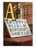 A For the Alphabet, A, B, C Poster by Edmund Evans