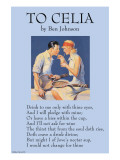 To Celia Posters by Ben Jonson