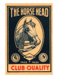 Horse Head Club Quality Matches Prints
