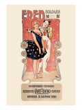 Eden: Ristorante-Caffe-Teatro-Birreria Kunstdruck von Leopoldo Metlicovitz