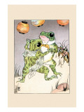 Dance With Billy Bullfrog Posters by Frances Beem
