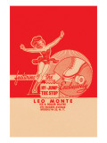 Leo Monte Ice & Roller Skates Posters