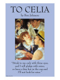 To Celia Prints by Ben Johnson