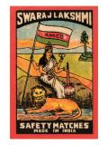 Swaraj Lakshmi Safety Matches Posters