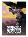 Monstra Del Ciclo Poster by Leopoldo Metlicovitz