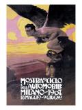 Monstra Del Ciclo Print by Leopoldo Metlicovitz