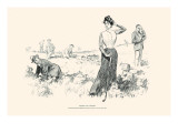 Advice To Caddies Prints by Charles Dana Gibson