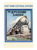 New York Central System - the 20th Century Limited Posters
