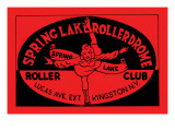 Spring Lake Rollerdome Roller Club Prints