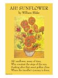 Ah! Sunflower Poster von William Blake