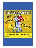 Roller Skate - Poise & Charm Prints