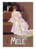 Lady In Lavender Kunst von Leopoldo Metlicovitz
