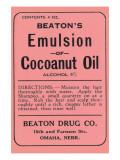 Beaton's Emulsion of Cocoanut Oil Prints