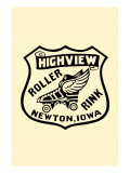 Highview Roller Rink Print
