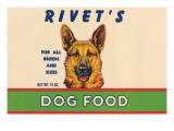 Rivet's Dog Food Prints
