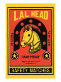 Lal Head Safety Matches Prints