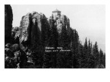 Black Hills Nat'l Forest, South Dakota - Harney Peak Look-out Station Kunstdrucke von  Lantern Press