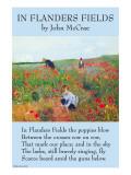 In Flanders's Fields Kunstdruck von John McCrae